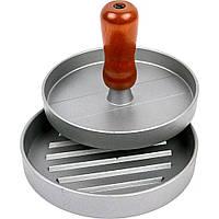 Пресс для гамбургеров и котлет металлический Browin 12 см, фото 1