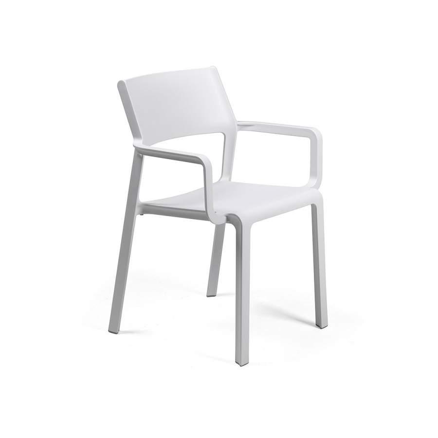 Крісло Trill bianko з підлокітниками 58,5х53,5х82,5см
