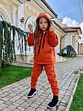 Детский теплый костюм батник и штаны трехнить размер: 122, 128, 134, 140, фото 3