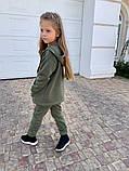 Детский теплый костюм батник и штаны трехнить размер: 122, 128, 134, 140, фото 9