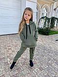 Детский теплый костюм батник и штаны трехнить размер: 122, 128, 134, 140, фото 2