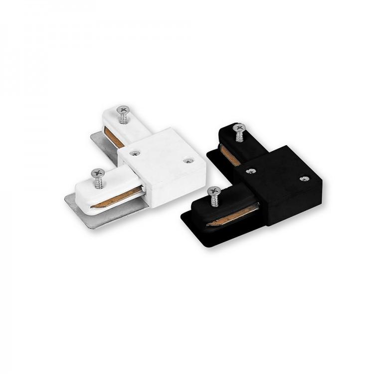 Конектор кутовий Feron LD1001 білий