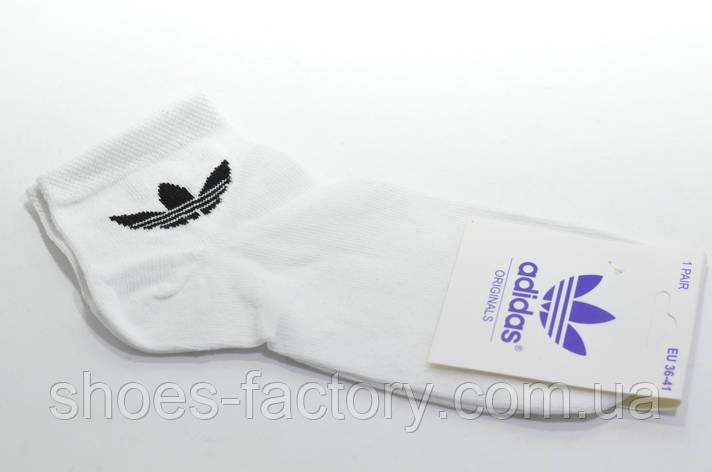 Женские носки Adidas, White/Белые, фото 2