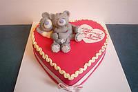 """Торт """"Влюбленные мишки"""""""