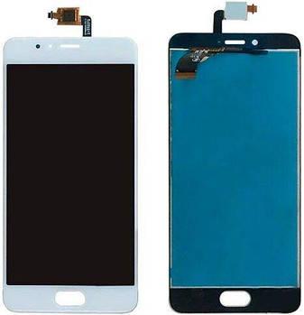 LCD Meizu M5s (M612)/M5s mini + touchscreen White high copy