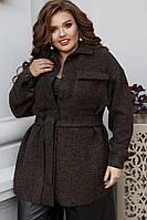 Женское пальто большого размера.Размеры:48/50,52/54,56/58, фото 1