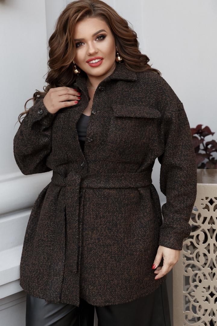 Женское пальто большого размера.Размеры:48/50,52/54,56/58