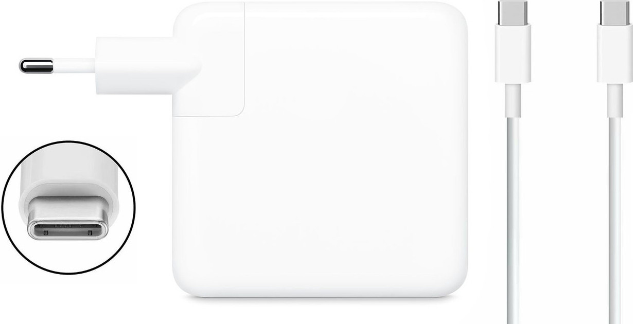 Блок питания Dellta для Apple Macbook (20V 87W 4.3A) Type C