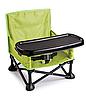 Складной тканевый стул стол для кормления baby seat Розовый, Зеленый, Серый, фото 5