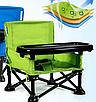 Складной тканевый стул стол для кормления baby seat Розовый, Зеленый, Серый, фото 2