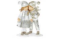 Декоративная фигрука Детки, 13см, цвет - шампань
