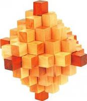 Деревянная головоломка Ромб