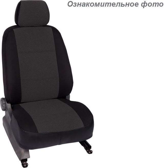 Чехлы салона Subaru Forester III 2008-2012 Жаккард /темно-серый