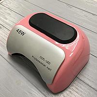CCFL+LED Лампа для маникюра Professional 48W Пастельно-розовая