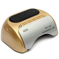 CCFL+LED Лампа для маникюра Professional 48Вт. Золотая