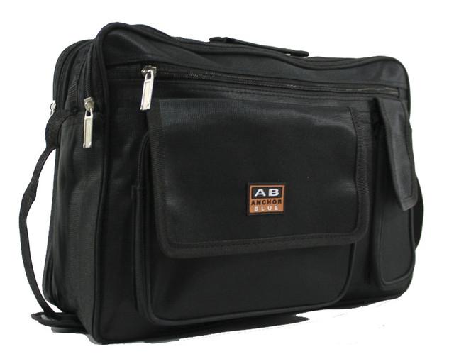 Вместительная и прочная сумка через плечо