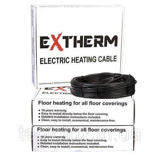 Extherm двожильний кабель для теплої підлоги ETC ECO 20-800 (2243-14739)