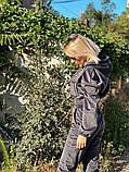Вельветовый спортивный костюм батник штаны размер: с-м, м-л, фото 5