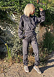 Вельветовый спортивный костюм батник штаны размер: с-м, м-л, фото 6