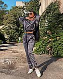 Вельветовый спортивный костюм батник штаны размер: с-м, м-л, фото 9