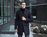 Пальто зимнее мужское BATYA (черное), фото 2