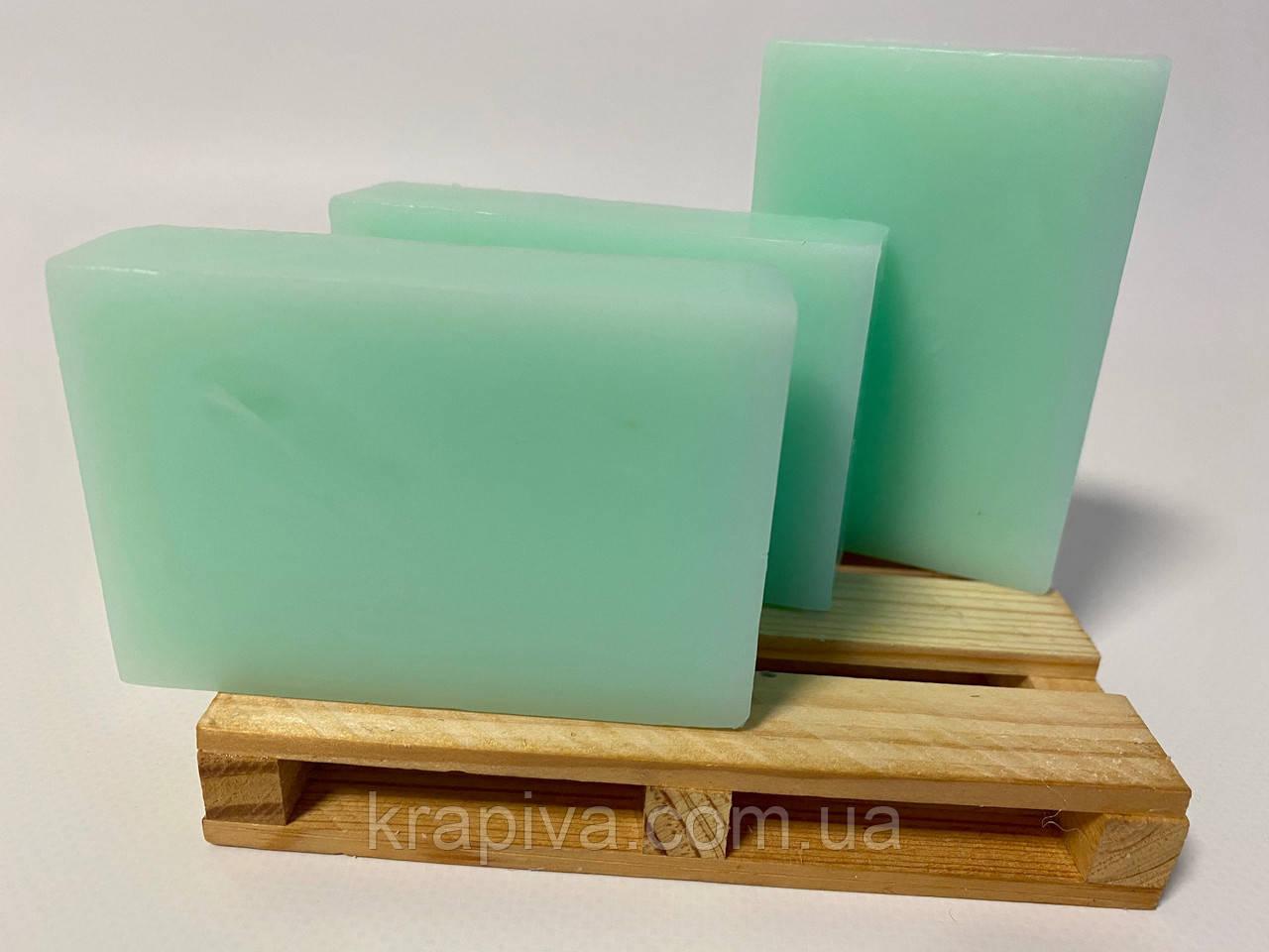 Натуральное мыло ручной работы Алое и Зеленая глина 100, натуральне мило ручної роботи Алоє і Зелена глина