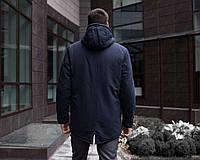 Куртка Парка зимняя мужская ELIT (темно-синяя), фото 1