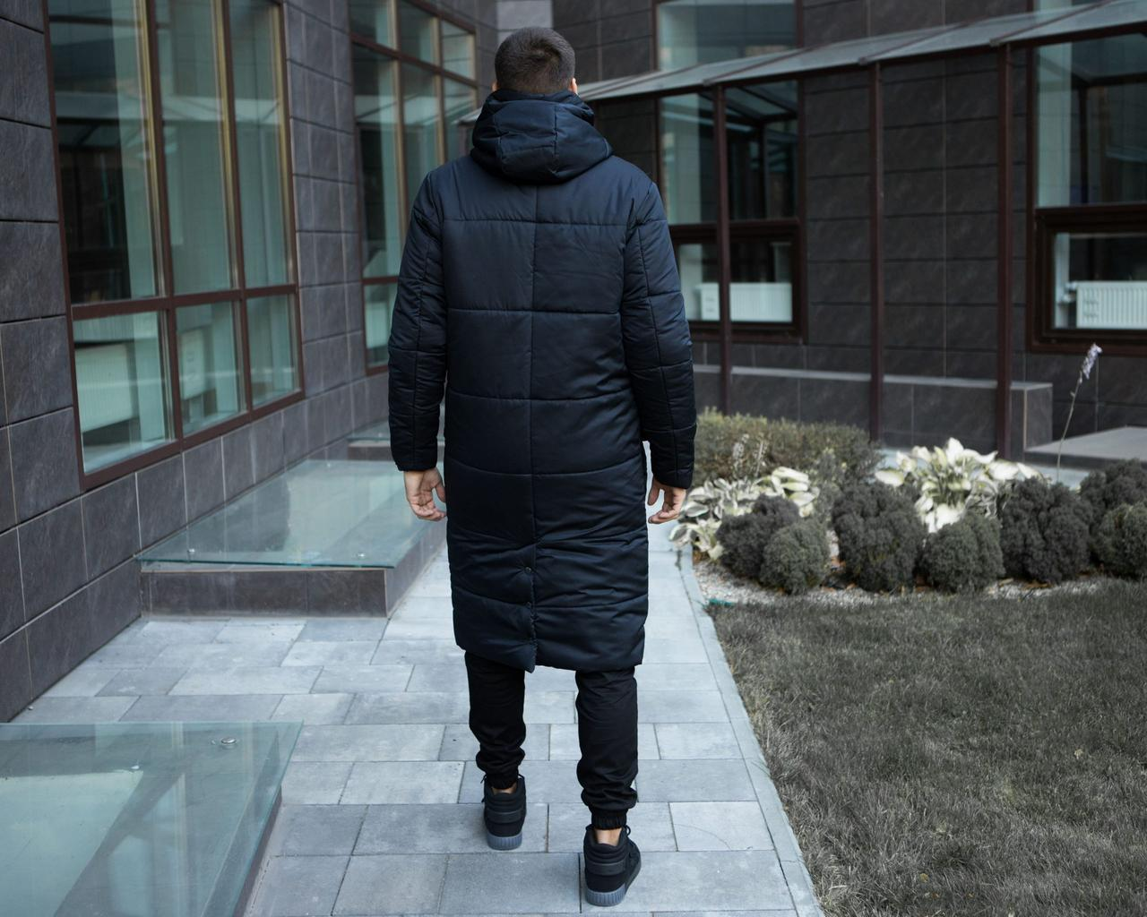 Куртка зимняя мужская 'Tank' (темно-синяя)