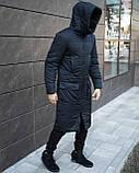 Куртка зимняя мужская 'Tank' (темно-синяя), фото 2