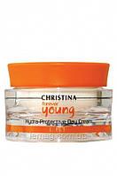 """CHRISTINA Forever Young Hydra Protective Day Cream SPF-40 Дневной крем """"Гидрозащита"""" с солнцезащитным эффектом, 150 мл"""