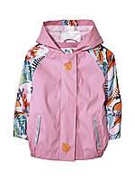 Детская демисезонная куртка-дождевик для девочки Lupilu 98\104