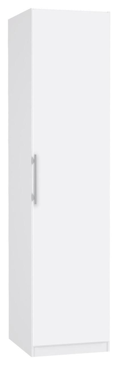 Шкаф однодверный платяной CDXS81-C04 CADIXO Forte белый/белый глянец