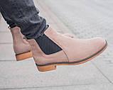 Зимние челси ZARA MAN (унисекс), зимние ботинки ZARA MAN, chelsea ZARA MAN, зимові черевики ZARA MAN, зара мен, фото 3