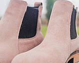 Зимние челси ZARA MAN (унисекс), зимние ботинки ZARA MAN, chelsea ZARA MAN, зимові черевики ZARA MAN, зара мен, фото 7