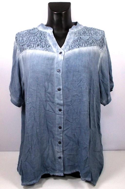 Блуза на пуговицах India размер 2XL(54-56)