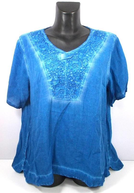 Блуза India натуральная ткань размер 5XL(58-60)