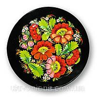 Тарелка петриковская роспись , диаметр 23 см.
