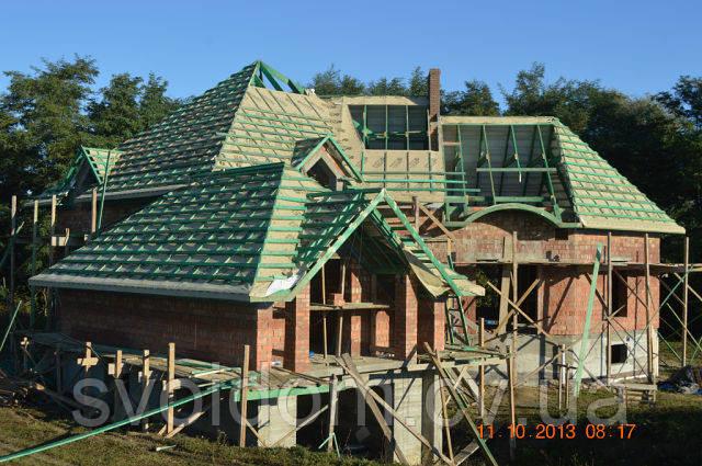 Изготовление разных типов крыш по Черновцах и области