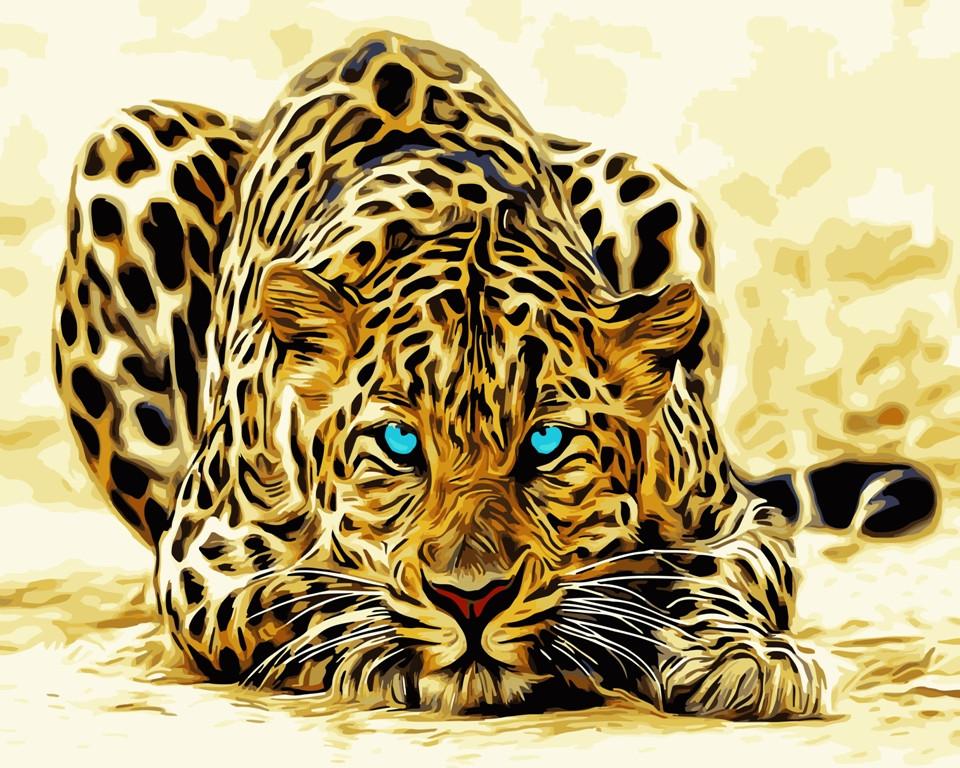 "Картина по номерам ""Хищник"" тм Лавка Чудес 40 x 50 см (в коробке) (LC20034)"
