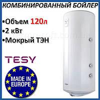 Бойлер 120 литров Tesy Bilight 2,0 кВт GCVS 1204420 B11 TSRCP. Комбинированный накопительный водонагреватель