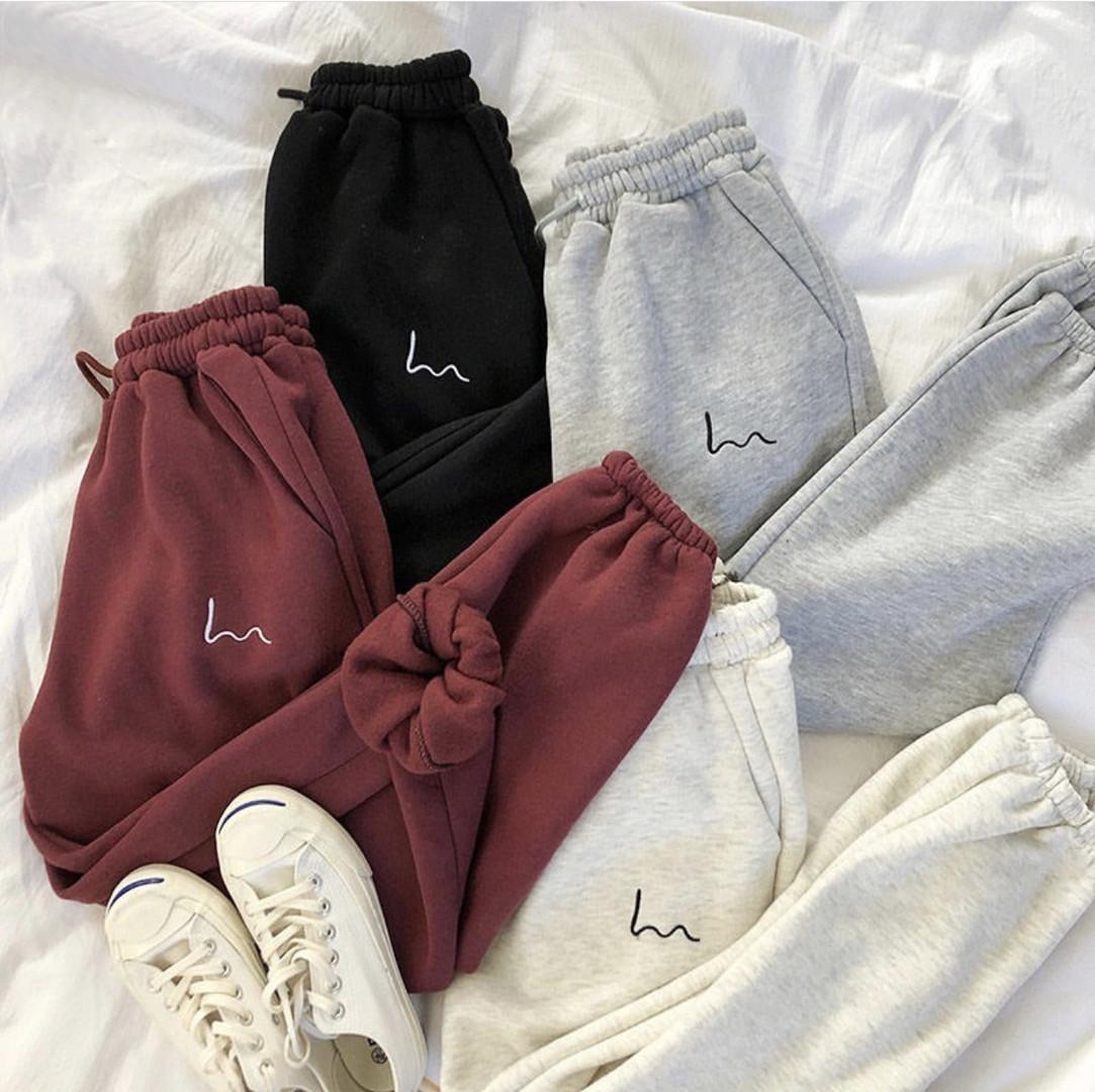 Теплые женские брюки 39-410