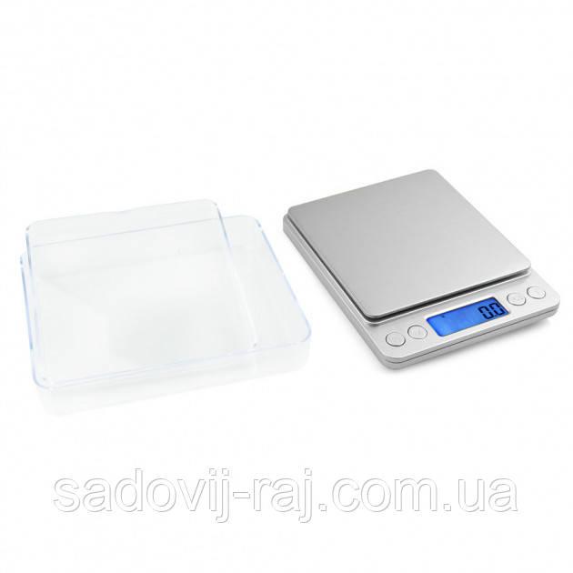 Весы электронные с чашами 0,01-500г