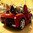 Дитячий електромобіль Lamborghini (червоний колір) з пультом дистанційного управління, фото 2