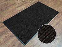 Ковер грязезащитный Рубчик-9 темно-коричневый 120х200см