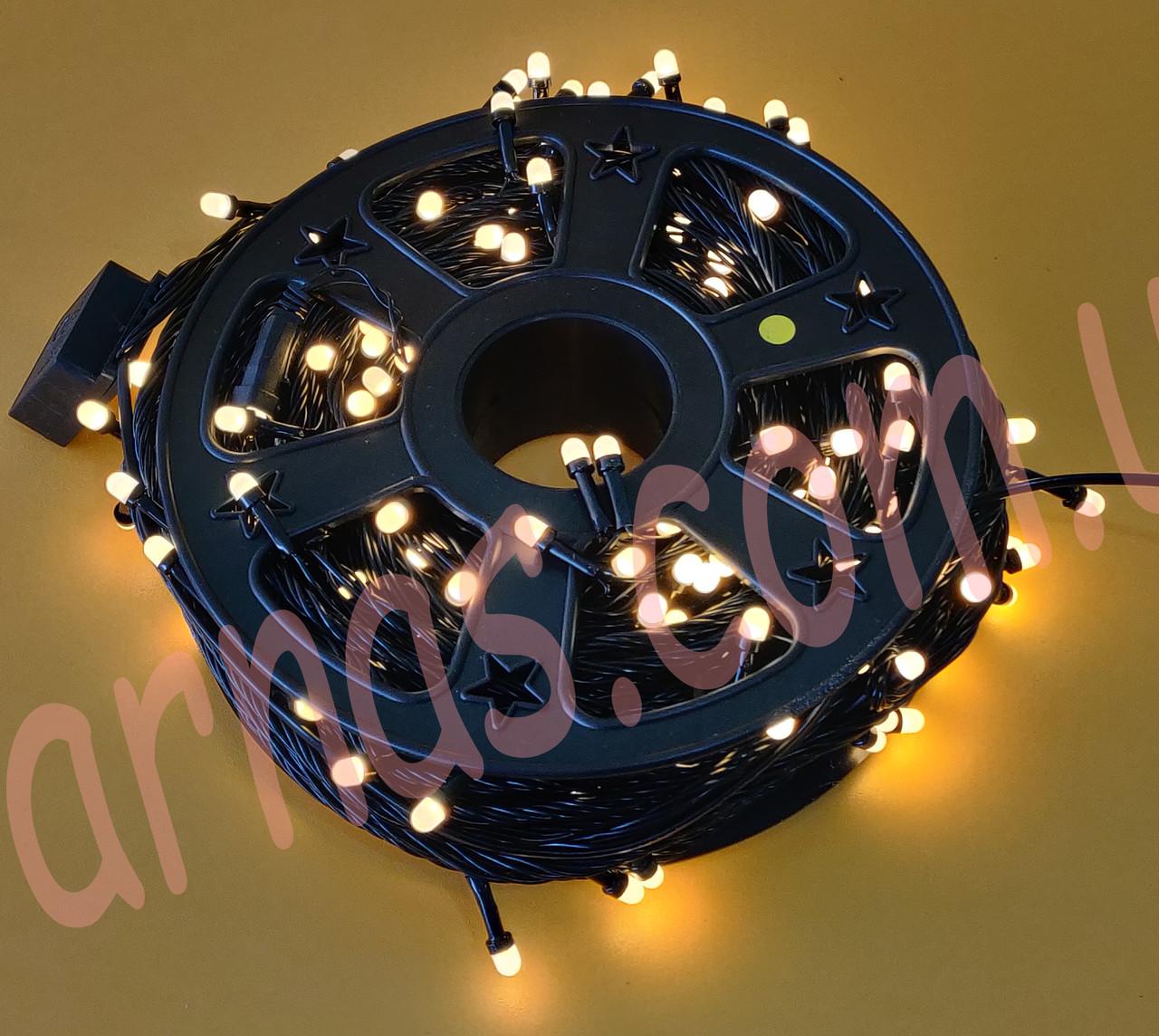 Светодиодная уличная гирлянда 50m 150 LED warm (50m-3)