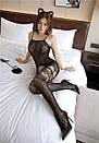 Сексуальная боди-сетка с рисунком в упаковке/ бодистокинг сексуальное белье эротическое белье, фото 5