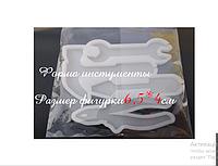 Молд силиконовый кондитерский для леденцов инструменты с отверстием для палочек разм фигурки 6,5*4см см