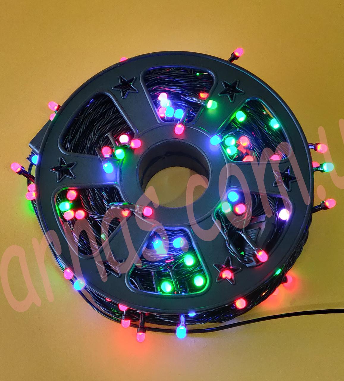 Светодиодная уличная гирлянда 50m 150 LED RGB (50m-)