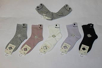 Детские носки Смайлик Размер 9 - 12 лет