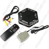 Аудио/видео AV селектор switch с пультом